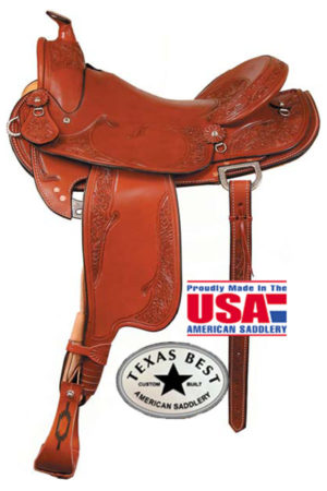 "American No. 936The Cagle Mtn Trail Saddle. QH Bars,16"" Seat"