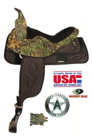 American No. 388The Camo Cordura, QH Bars, 14, 15, 16, 17""