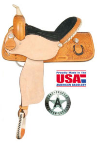 "American No. 735The Lucky Rider, QH Bars, 15"" 16"" Seat"