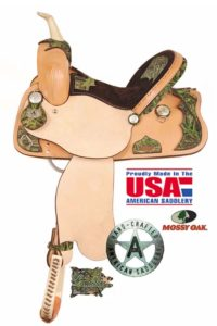 American No. 773The Camo Racer Saddle, QH Bars, 13,14,15,16""