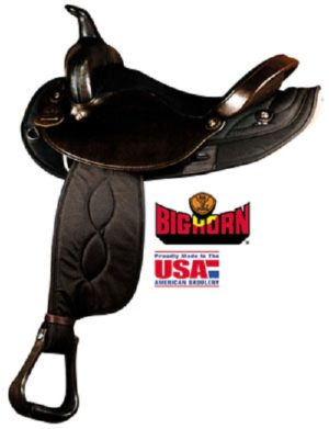 Big Horn No.105-16,106-16OREGON ROUND SKIRT NYLON SADDLE