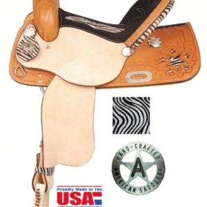 American No. 896The Circle Star Saddle, QH Bars, 15 or 16""