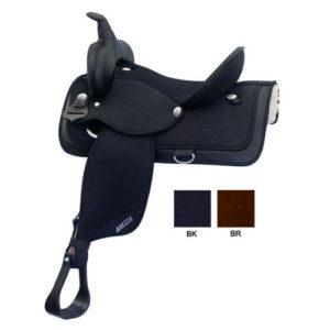 """Abetta No. 20515WNylon Saddle, X-Wide QH Bars, 16, 17"""""""