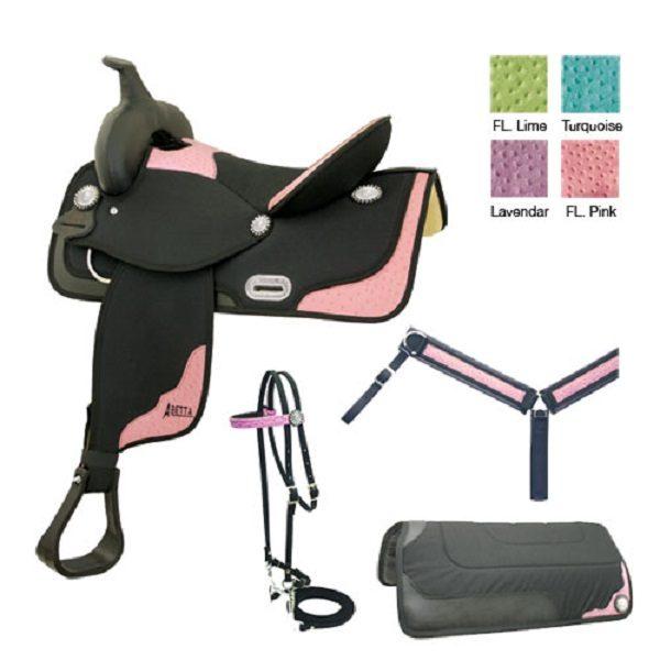 """No. 20561PAbetta Oatrich Classic Saddle, 4 Colors, 13 - 17"""""""