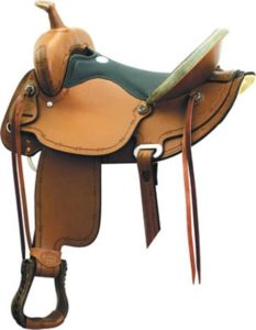 "No. 291498BCS FLEX TRAIL Saddle II By Billy Cook, 16"" & 17"""