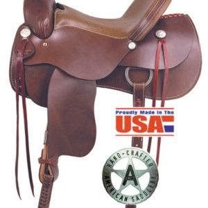 "American No. 1550The Draft Master Saddle, 16 & 17"" Seat"