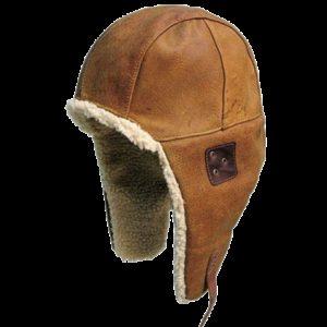 NO. 9H26Kakadu Flying Doctor Hat. Aviator Style, Wool Lined