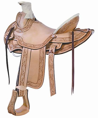 """No. 291800Billy Cook Cimarron Ranch Roper Saddle. 16, 17"""""""