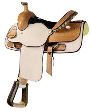 No 291786Dalhart Roper Ladies Saddle. Billy Cook.14""