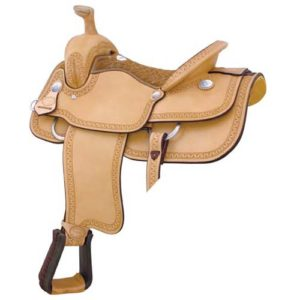 """No 291767Motes Carlos Roper II Saddle, By Billy Cook. 16"""""""