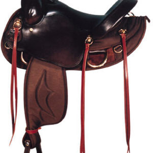 Big Horn A00305NEW FLAT TOP-LINE SADDLE. Fits Mules & Horse