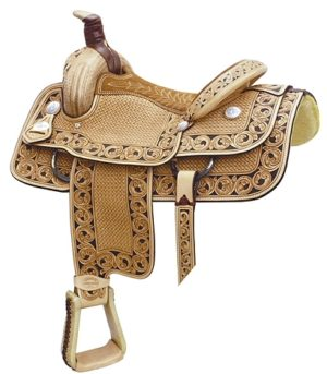 No 291738Motes Accent Roper Saddle. By Billy Cook. 15,16,17""