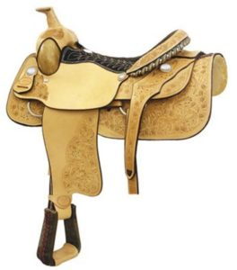 "No 291614Matt Tyler Roper Saddle by Billy Cook. 16, 17"" Seat"