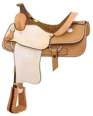"No. 291602Cowtown Roper Saddle by Billy Cook. 15.5"" Seat"