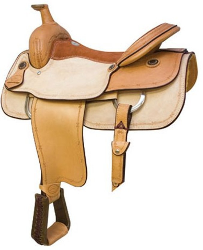 No  291643Maverick Roper Saddle  by Billy Cook  16, 17
