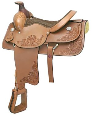 "No. 291604Roper Saddle. by Billy Cook. 15.5"" Seat"