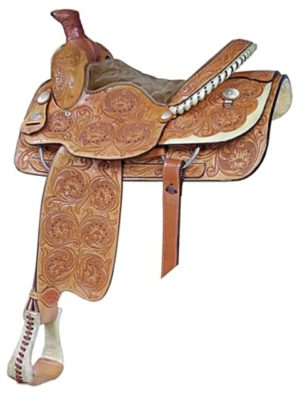 No 291523Saddlesmith Lady Roper Saddle. by Billy Cook 14.5""