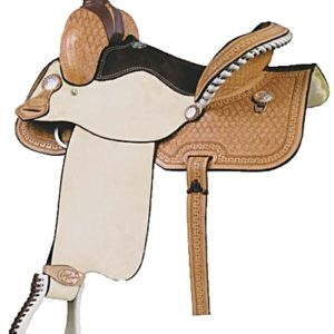 No 291522Carlos Combo Roper Saddle. by Billy Cook.14, 15""