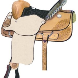 No 291103Stockyard Youth Roper Saddle by Billy Cook 14""