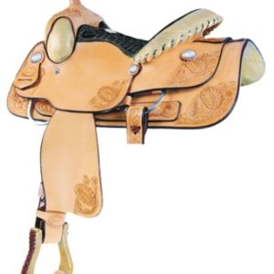 "No 291104Fort Worth Jr. Roper Saddle by Billy Cook. 13"" Seat"