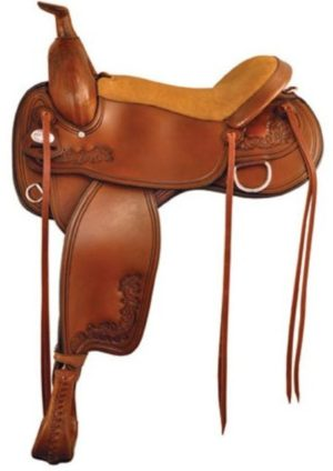 No 292TF514Hallelujah Flex Trail Saddle, by Tex Tan 16, 17""