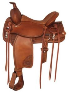"No 292TF477TNT Trailblazer Saddle byTex Tan 16 or 17"" Seat"