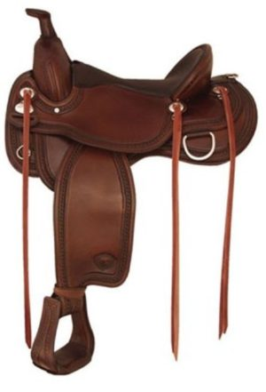 No 292TF478Memphis Flex Trail Saddle by Tex Tan 16 or 17""
