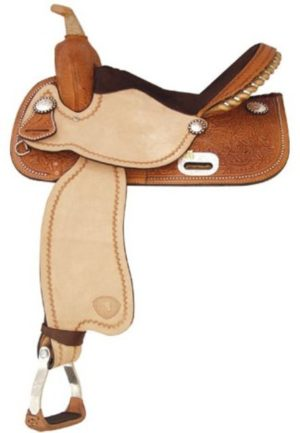"No 292218Finals Champ Barrel Saddle by Tex Tan, 14"" or 15"""