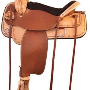 "No 292TF517Lone Star Flex Trail Saddle by Tex Tan. 16"" 17"""