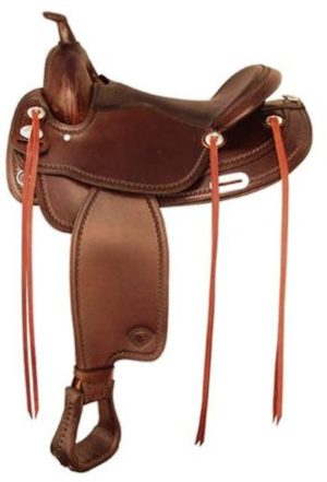 No. 292TF486Norco Flex Trail Saddle by Tex Tan QH, FQH Bars