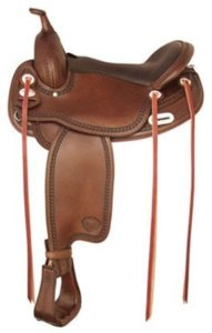 "No 292TF488Tuscaloosa Flex Trail Saddle by Tex Tan 16"", 17"""