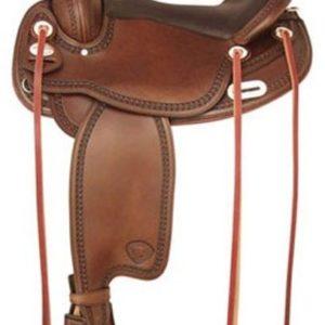 "No 292TF488Tuscaloosa Flex Trail Saddle by Tex Tan 16"", 17"""