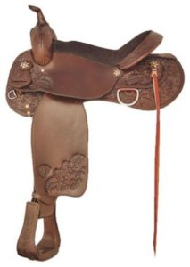 "No 292498Milano Trail Saddle byTex Tan. 16"" or 17"" Seat"