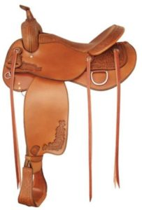"No 292499Live Oak Trail Saddle by Tex Tan 16"" or 17"" Seat"