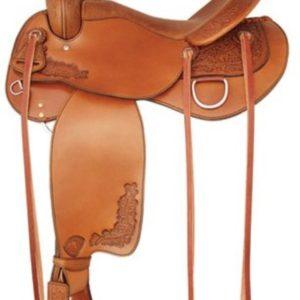 "No 292499Live Oak Trail Saddle by Tex Tan 16"" or 17"" Seat"