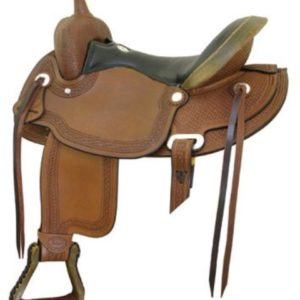 "No 291496South Fork Flex Trail Saddle by Billy Cook 16"", 17"""
