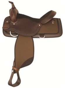 "No 292NY521Pagoda Nylon Trail Saddle by Tex Tan 16"", 17"""