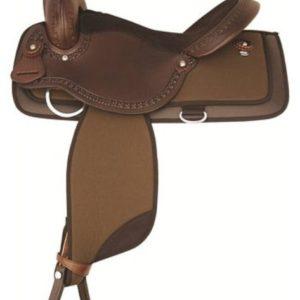 """No 292NY521Pagoda Nylon Trail Saddle by Tex Tan 16"""", 17"""""""