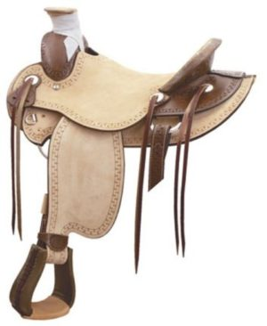 "No 291820Carlos Wade Roper Saddle by Billy Cook 16"" Seat"