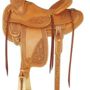 "No 292800Camden Wade Rancher by Tex Tan. 16"" Seat."