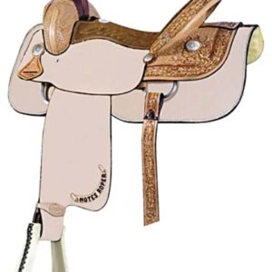"No 291742Motes Half Breed Roper by Billy Cook. 15.5"", 16"""