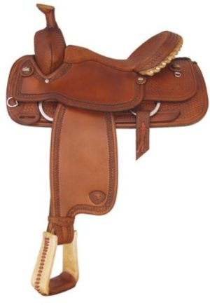 No 292739Boe Allen Roper Saddle by Tex Tan. 14.5, 15, 15.5""