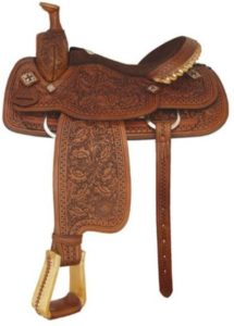 "No 292744Shiner Roper Saddle by Tex Tan 15"", 15.5"", 16"" Seat"