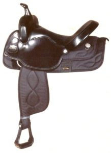 Big Horn A00293-17WALKING HORSES SADDLE, NYLON