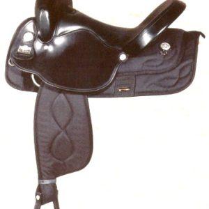 Big Horn A00293-17WALKING HORSES SADDLE, NYLON