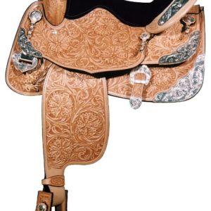 """Big Horn A00891Big Horn Show Saddle  16"""" Seat"""