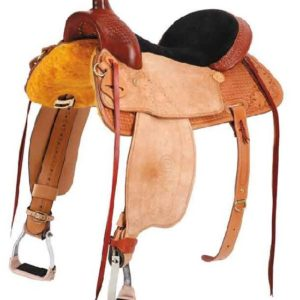 No 200-3356, 4356, 5356, 6356, 7356RED CLOUD ROPER SADDLE