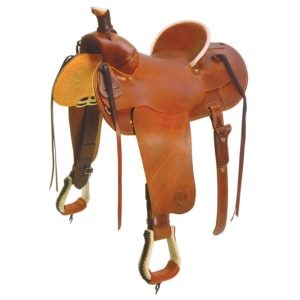 No. 0-111 Cowboy High Cantle Saddle. 15 or 16 Inch Seat