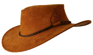 No. 9H24The Southern Cross Hat, Kangaroo Suede Leather