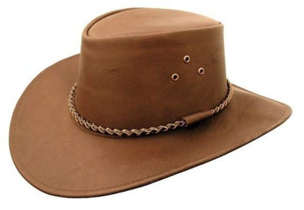 0f445ce5654bc Packer Full Grain Leather Hat